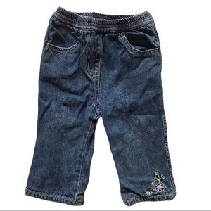 🧚‍♀‍4/$25 CHEROKEE 6-12M Denim Pants
